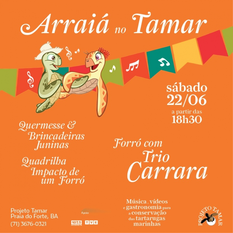 Arraiá no Tamar