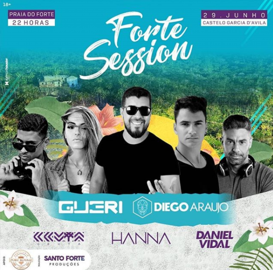 Forte Session no Castelo