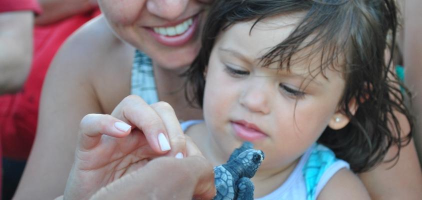 Descubra porquê Praia do Forte é um destino ideal para ir com as crianças