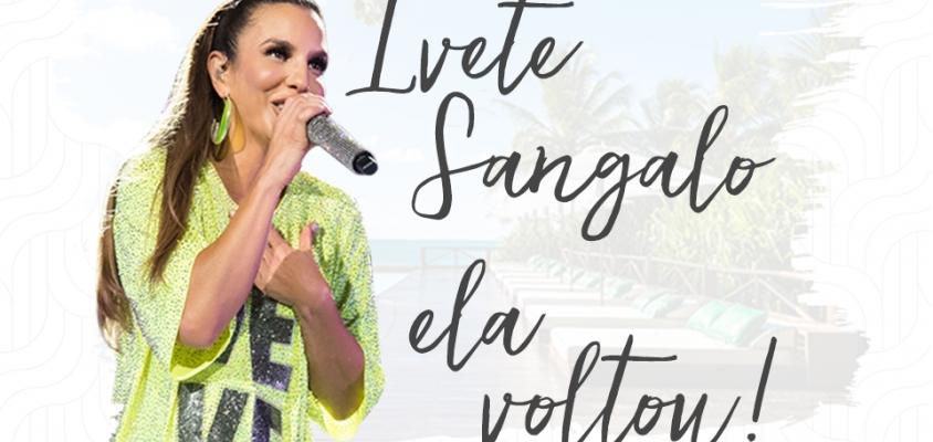 Ivete Sangalo realizará show especial no Tivoli Ecoresort Praia do Forte