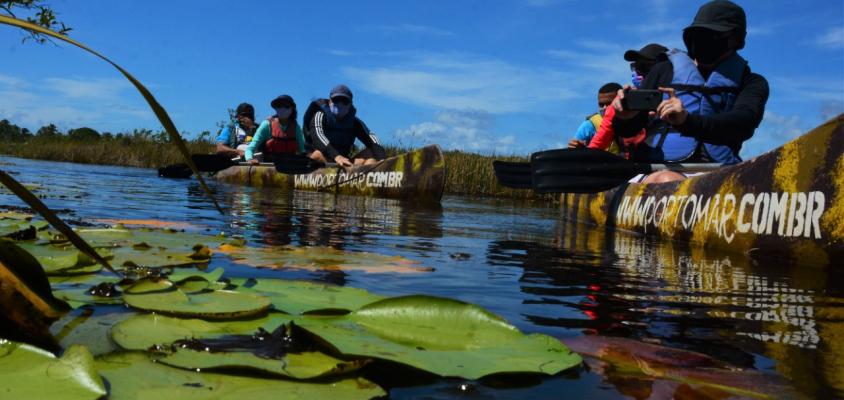 Parque Klaus Peters inaugura nova trilha com passeios pela Lagoa Timeantube