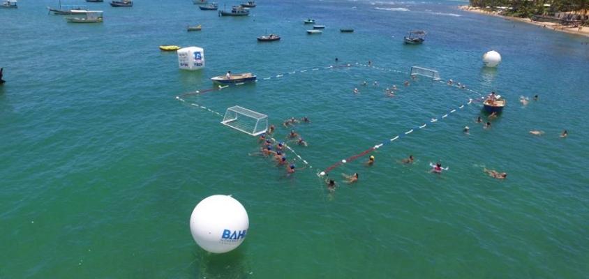 Praia do Forte será palco de mais uma edição do Circuito Open de Polo Aquático