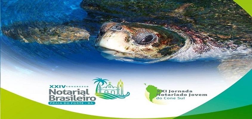 Praia do Forte será palco do XXIV Congresso Notarial Brasileiro e a XXI Jornada do Notariado Jovem do Cine Sul