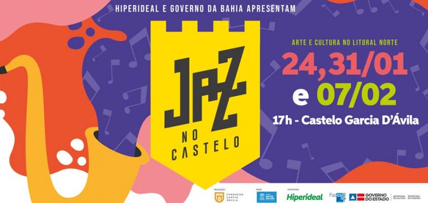 Projeto Arte e Cultura do Litoral agita o Castelo Garcia D'Ávila