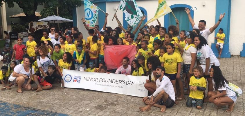 Semana do Meio Ambiente: Conscientização e diversão na Praia Do Forte