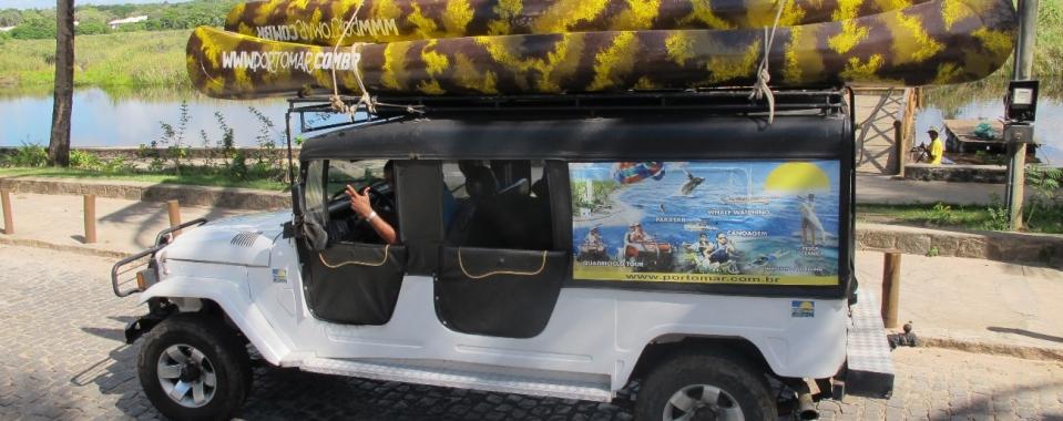 Jeep Tour em Praia do Forte