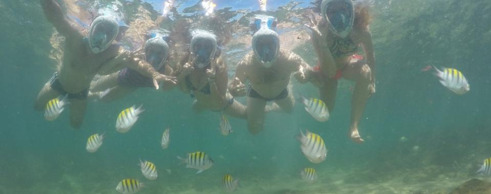 Mergulho Easy nas Piscinas Naturais